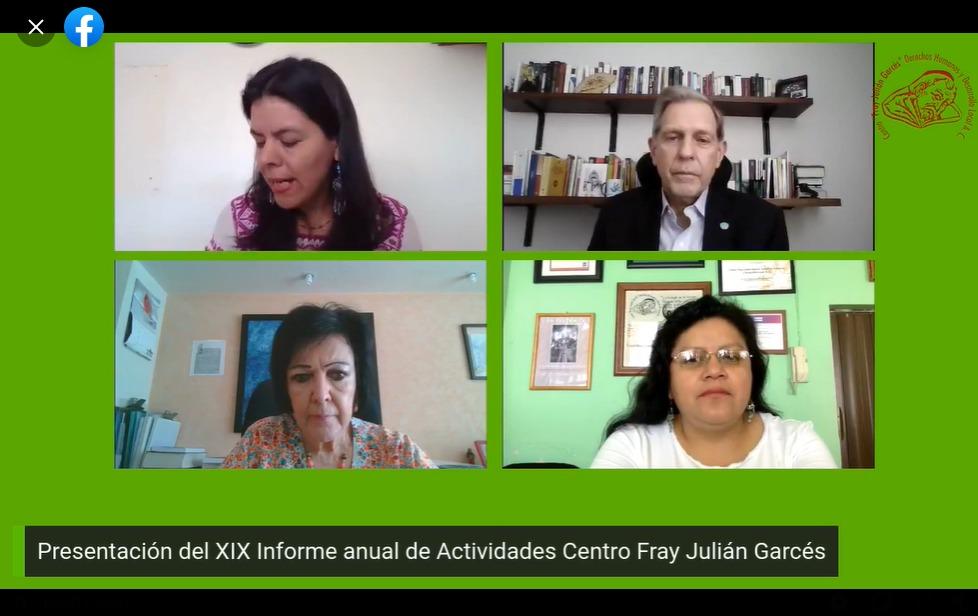 Comunicado. Presentan situación ambiental y de trata de mujeres en informe del Centro Fray Julián Garcés
